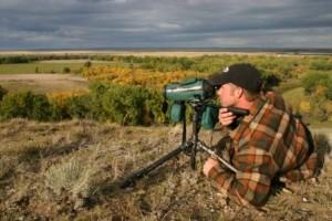 glassing for buck spot scope