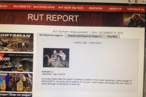 rut report