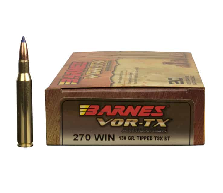 Review Barnes Vor Tx Ammo Amp Copper Bullets For Hunting
