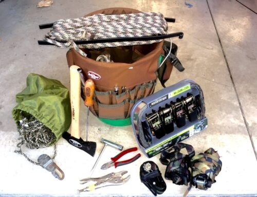 Tools For Setting Tree Stands