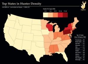 qdma hunter density
