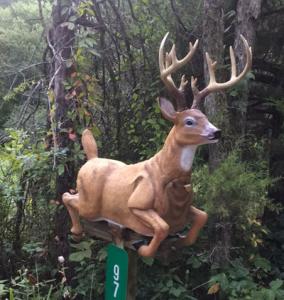 deer mailbox