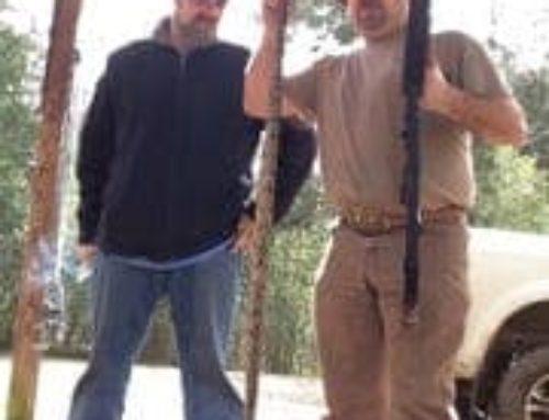 Mississippi Hunter Trapped In Deer Stand w/Rattlesnake!