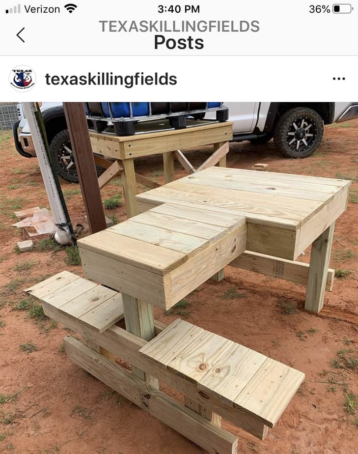 Build A Shooting Bench For 100 Big Deer